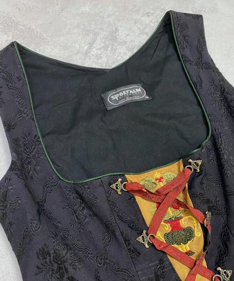 MADE IN AUSTRIA SPORTALM vintage dress-2162-9