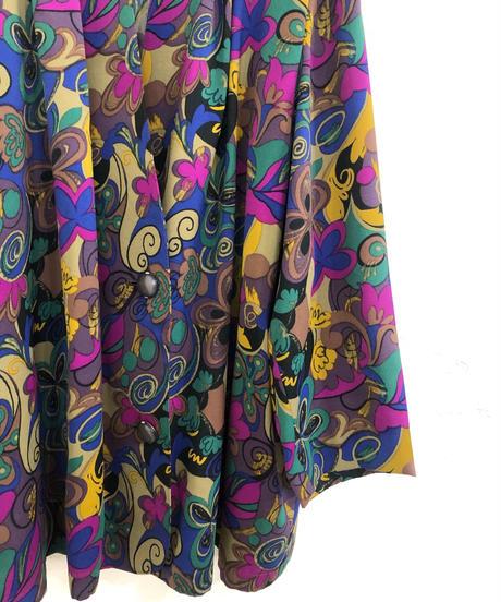 Liosertan flower motif vivid color jacket-1804-4