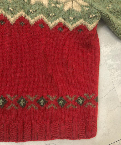 RALPH LAUREN nordic design alpaca knit-1560-12
