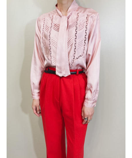 Les Sportique classical pink color shirt-1849-4
