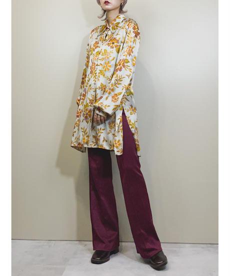 Aroha gray rétro long shirt-1093-5