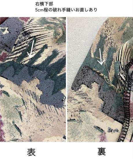 Ethnic design import open collar shirt-1888-5