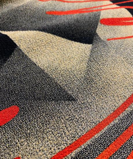 Abstract design high neck tops-2221-10