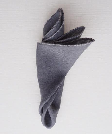 ウールトリム・ポケットチーフ  #PS1706
