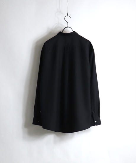TR CPOスナップ釦LSシャツ /ベージュ