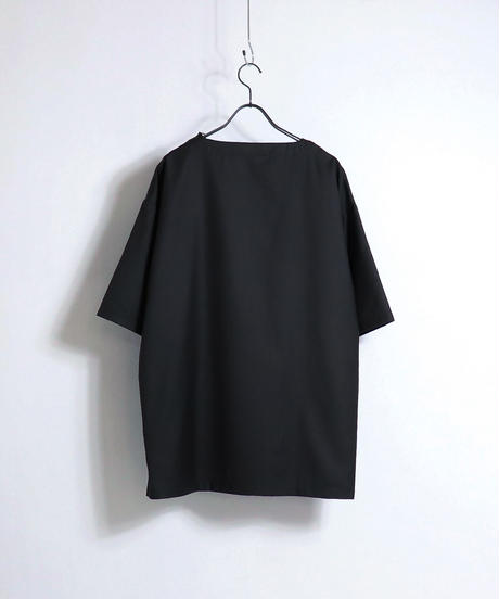 TR切替ビッグプルオーバー /ブラック