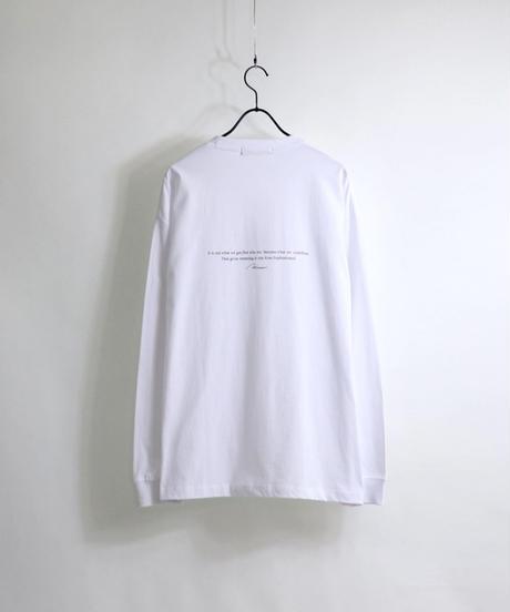 LOGOロンT /ホワイト