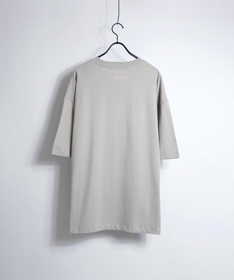 ビッグ刺繍ロゴTシャツ /ブラック