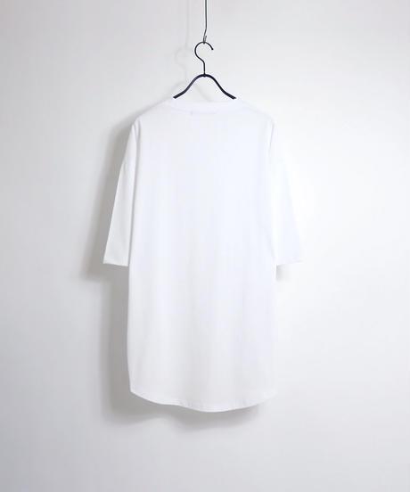 ラウンドテールビッグTシャツ /グレー