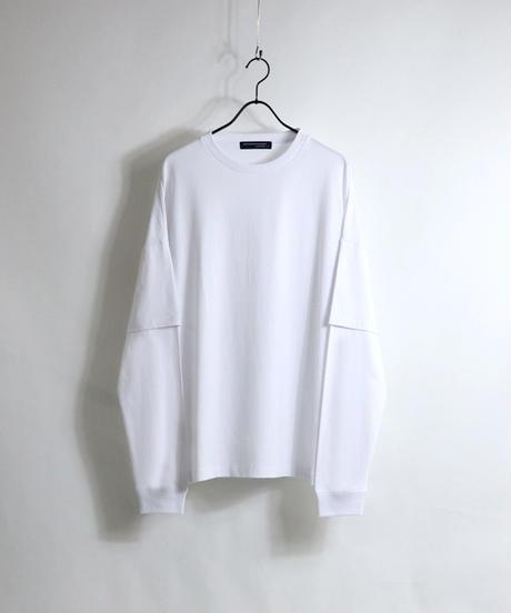 フェイクレイヤードT /ホワイト