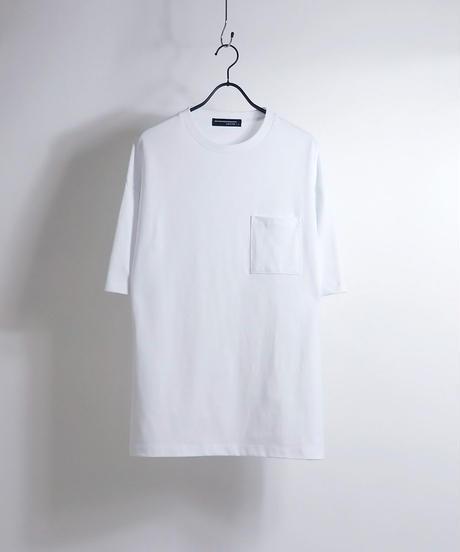 ビッグシルエットTシャツ/ブルー