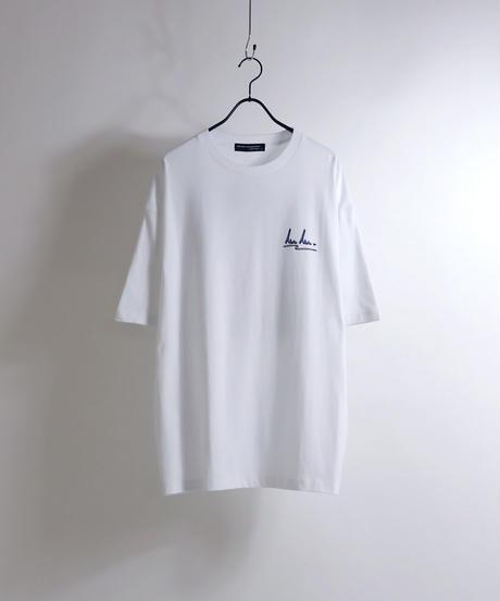 msy.×Confirm コラボプリントTシャツ /ベージュ2