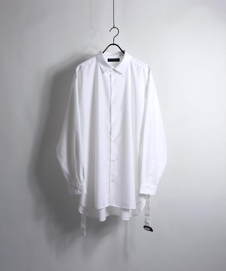 TRロングベルトLSシャツ /ホワイト