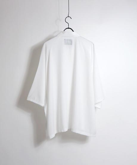五分袖ラグランビッグシャツ /ブラック