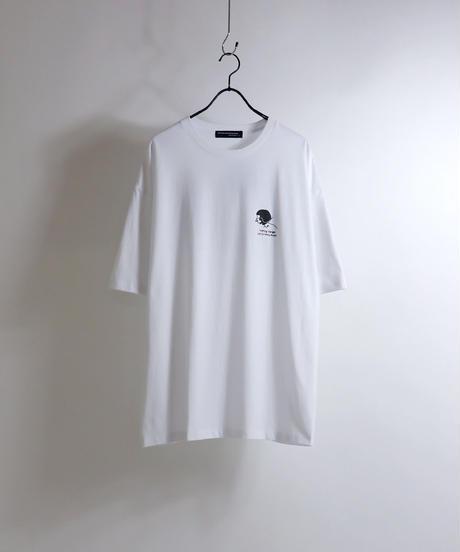 msy.×Confirm コラボプリントTシャツ /ブラック