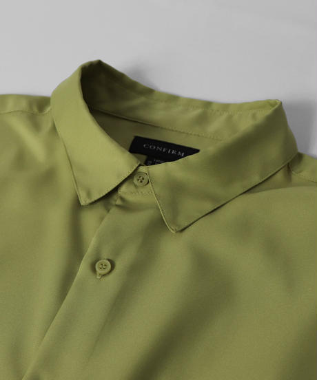 ルーズベーシックシャツ /ホワイト