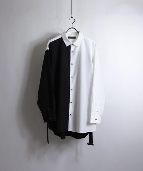 TRロングベルトLSシャツ /ベージュ