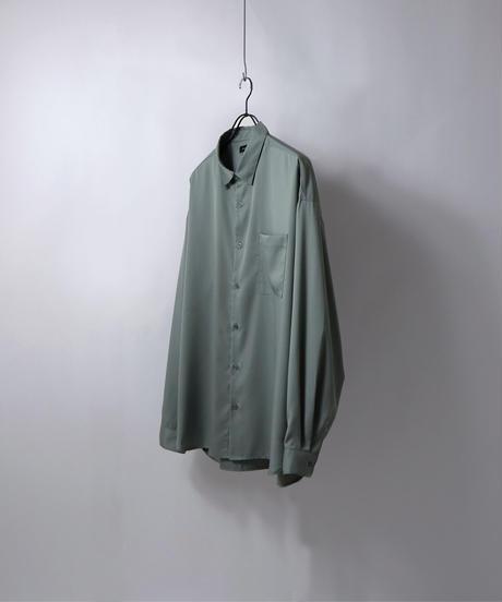ルーズベーシックシャツ /ブラック