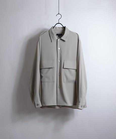 ビッグCPOシャツジャケット /ベージュ