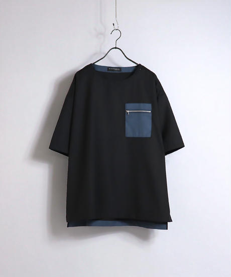 TRビッグポケットプルオーバー /ブラック