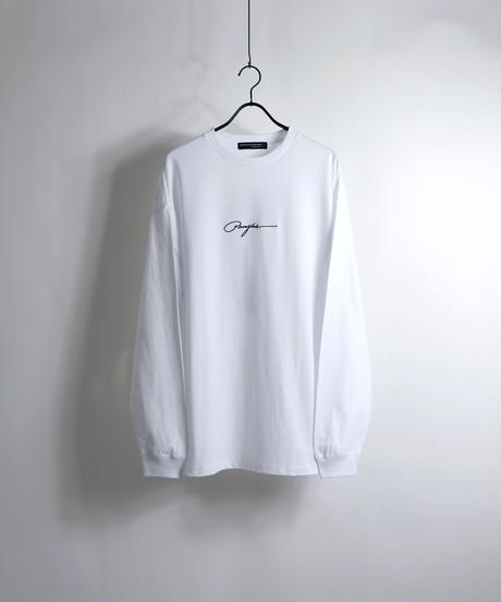ピアスボーイプリントロンT /ホワイト
