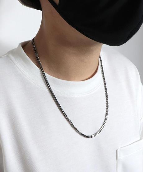 チェーンネックレス /ブラック