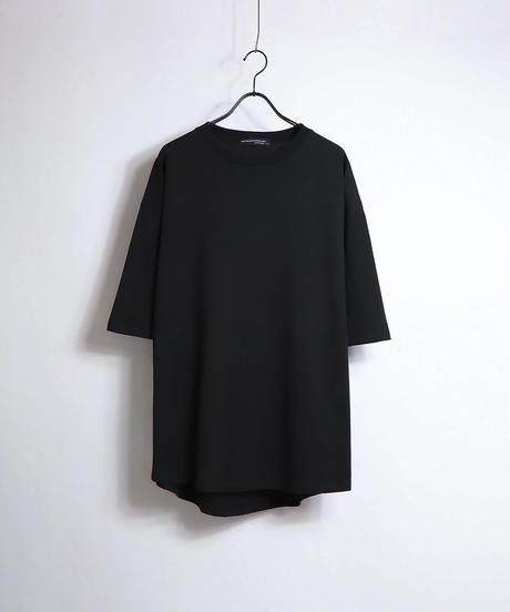 ラウンドテールビッグTシャツ /ベージュ