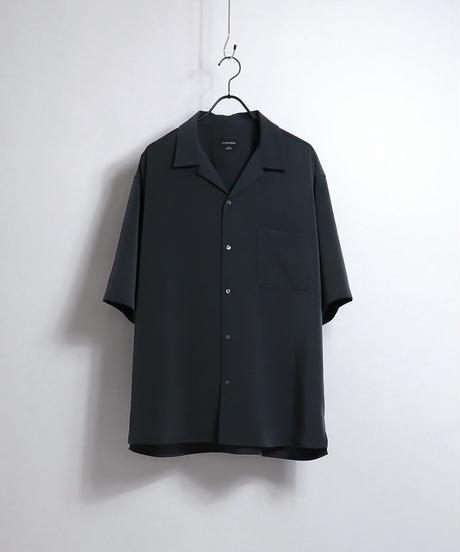 PEオープンカラーシャツ /グリーン