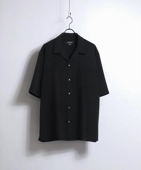 PEオープンカラーシャツ /ベージュ