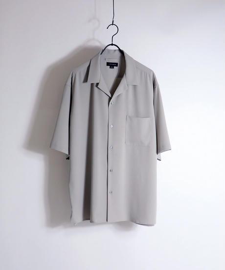 PEオープンカラーシャツ /ミント