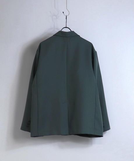【セットアップ対応】ダブルブレストジャケット/グリーン