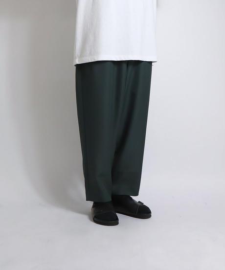 バルーンワイドパンツ/グリーン