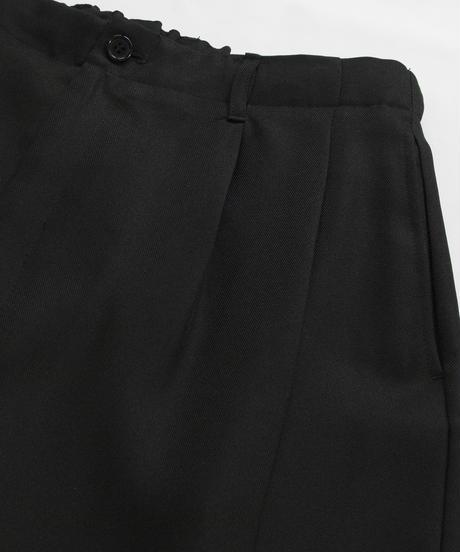 【セットアップ対応】ワイドバルーンパンツ/ブラック