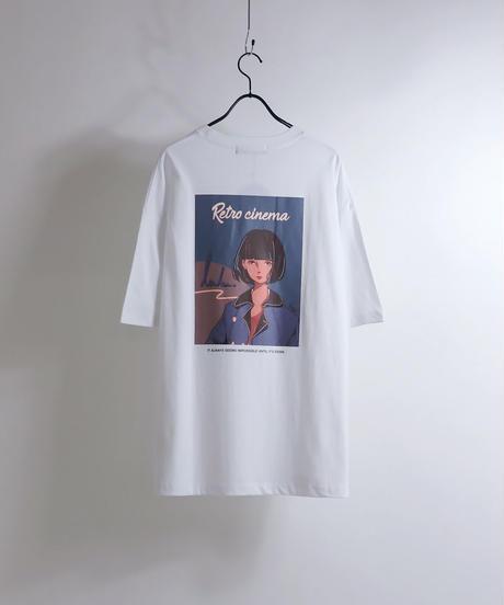 msy.×Confirm コラボプリントTシャツ /ホワイト2