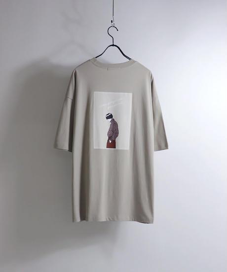 クールボーイプリントTシャツ /ブラック