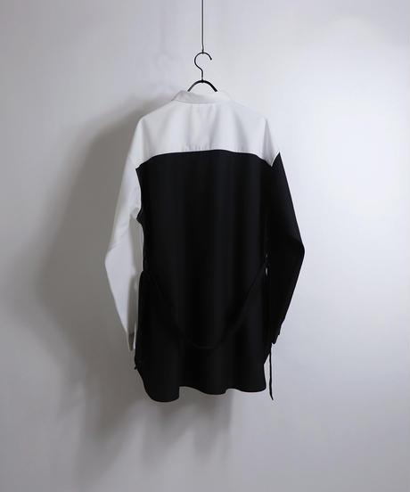 TRロングベルトLSシャツ /ブラック2