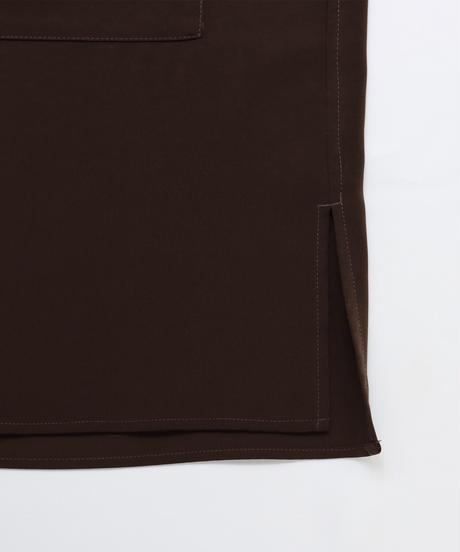 ビッグCPOシャツジャケット /ブラウン