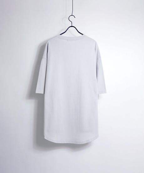 ラウンドテールビッグTシャツ/ブラック