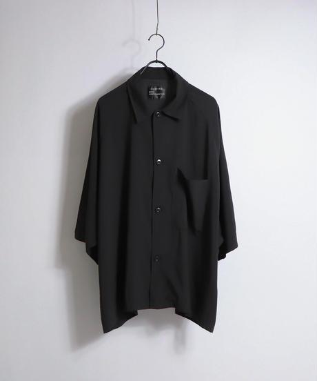 五分袖ラグランビッグシャツ /ホワイト