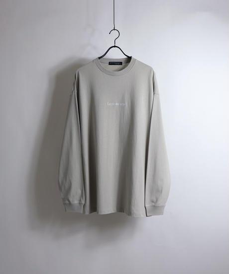 エモガールプリントロンT /ブラック