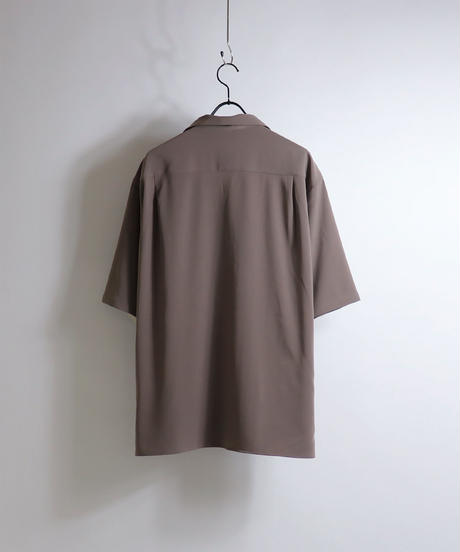 PEオープンカラーシャツ /ピンク