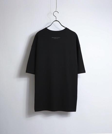 ビッグ刺繍ロゴTシャツ /ホワイト