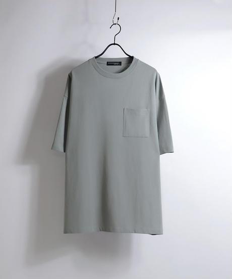 ビッグシルエットTシャツ/チャコールグレー