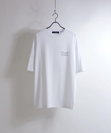 ライダースガールプリントTシャツ /チャコール