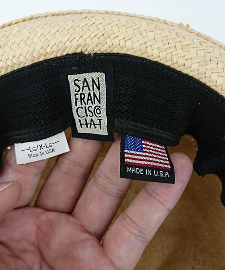 San Francisco Hat ストローハット(211)