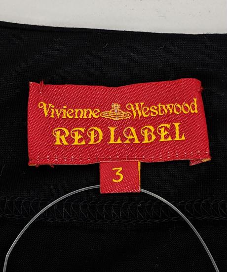【Ladies】Vivienne Westwood オフネックアシンメトリーワンピース SIZE3(322)