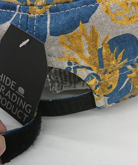 【新品】HIDE TRADING パターンワークキャップ VS1-008(219)