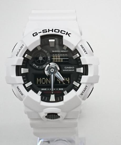 【新品】CASIO G-SHOCK GA-700-7AJF(Wa33)