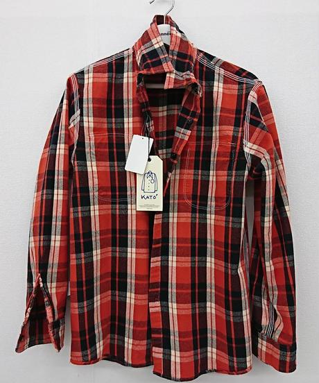 KATO 未使用 ネルシャツ(94)
