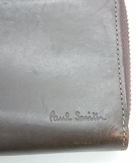 Paul Smith ラウンドファスナー長財布(Sa04)